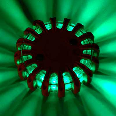 PowerFlare green