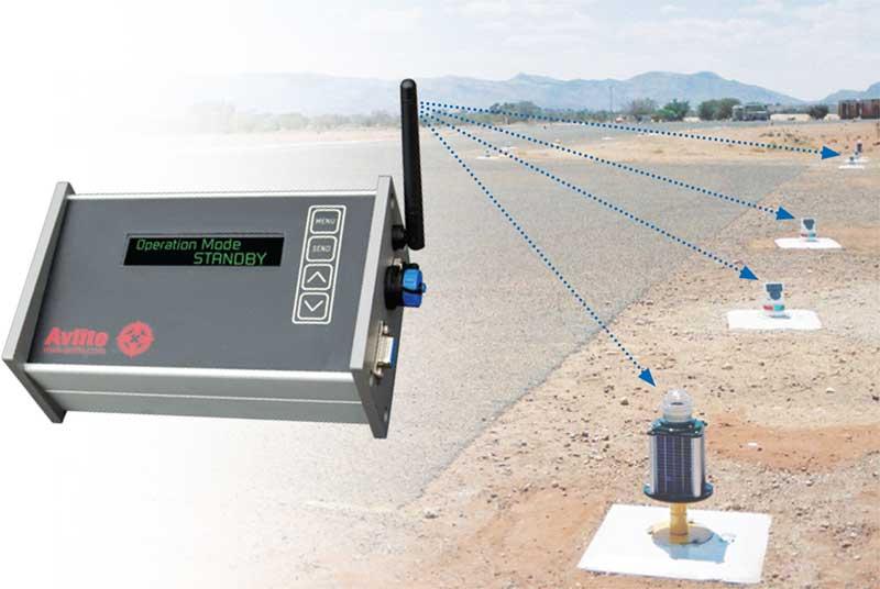 Radio-Controlled Solar-Powered Airfield Lighting Avlite