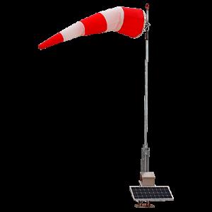 Solar Series Permanent LED Wind Cone