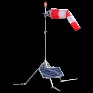 Solar Series Portable LED Wind Cone