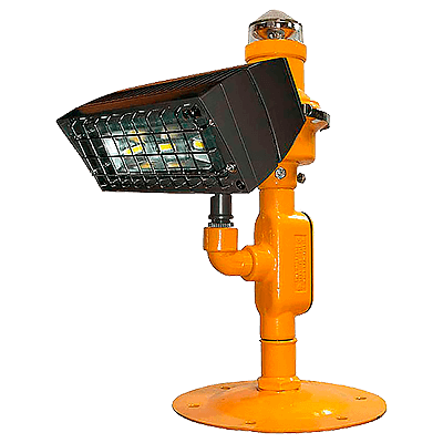 Heliport Perimeter Light with Flood (HPLF) LED Perimeter/LED Flood