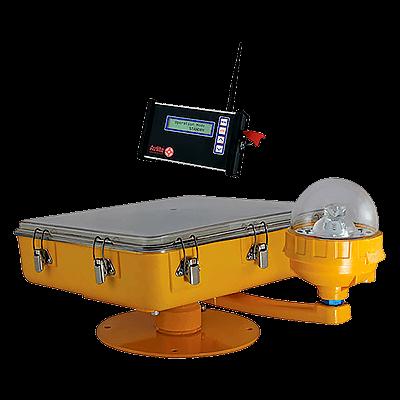 Radio Controlled Solar Heliport Light AV-HL-RF-SOL | Avlite