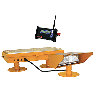 Radio Controlled Solar Helipad Floodlight AV-FL-RF-SOL | Avlite
