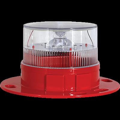 AV-OL-60 Red Solar Aviation Light | Avlite