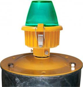 shallow base mounted LED Heliport Perimeter Light
