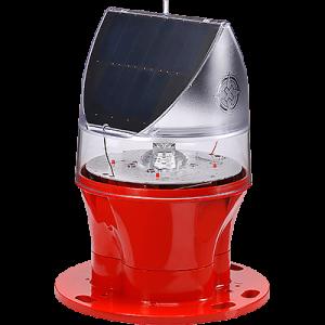 Solar Powered ICAO Type A Low Intensity Obstruction Light AV-OL-75