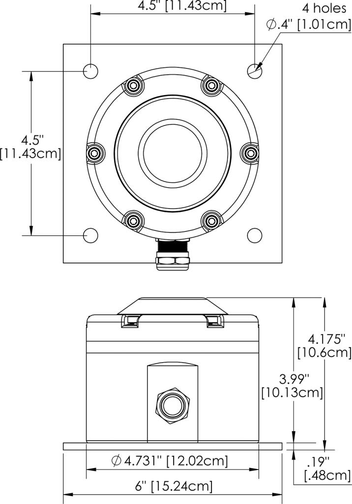 HL-592L Dimensions