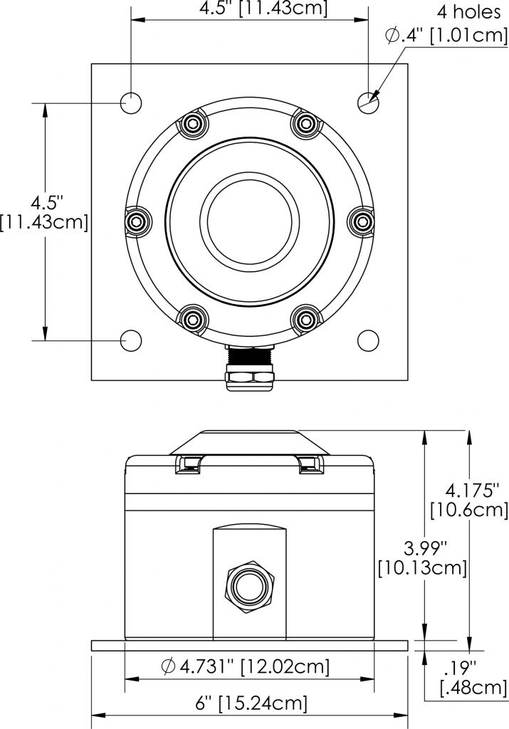 HL-590L Dimensions