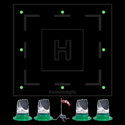 Portable Heliport Lighting System HL-PHLS