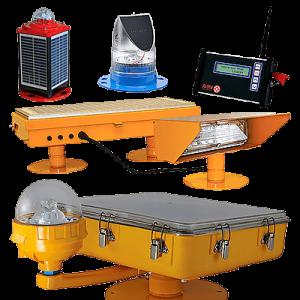 Surface/Ground Level Heliport Lighting System Avlite