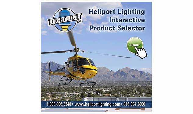 Heliport Lighting Interactive Product Selector