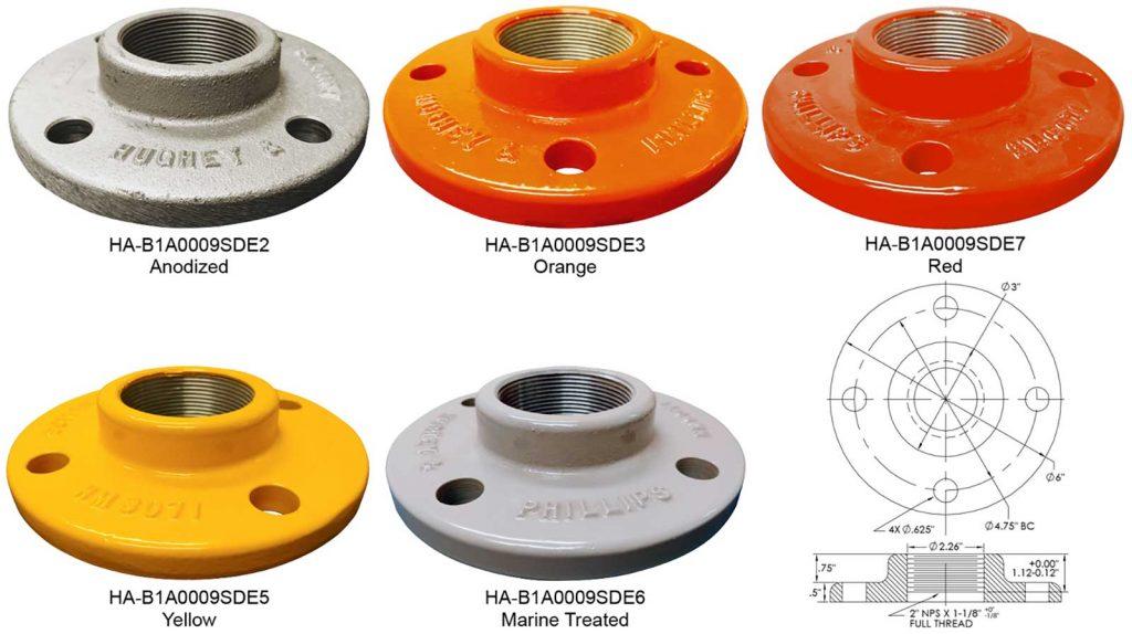 HA-B1A0009SDE frangible coupling