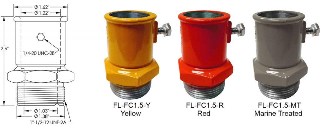 FL-FC1.5 frangible coupling