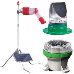 Portable Heliport Lighting System HL-PHLS package 1