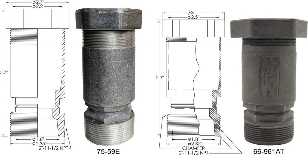 75-59E 66-961AT couplings