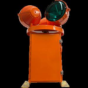 HBM 150/3 L-801H L-802H Heliport Rotating Beacon green
