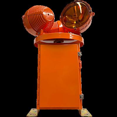 HBM 150/3 L-801H L-802H Heliport Rotating Beacon yellow