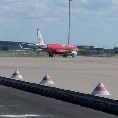 AV-LC Airfield Cone Marker on airport