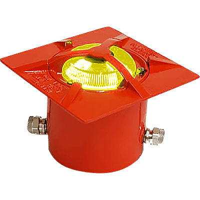 Model 1601 Heliport Recessed Flushlight