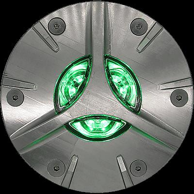HL-690L LED Stainless Steel Helipad Semi-Flush Perimeter Inset Light
